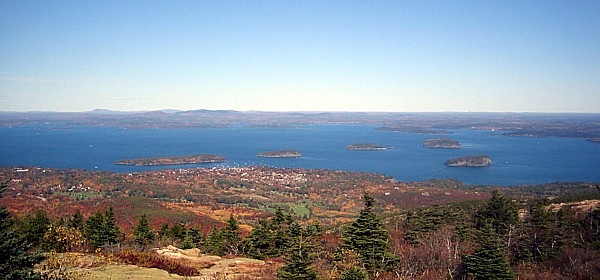 Bar Harbor in the Fall