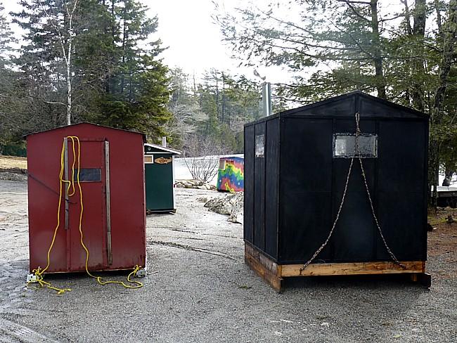 Ice Shacks